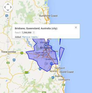 adwords management brisbane geo targeting