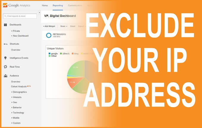 How to with Google Analytics Exclude IP Addresses