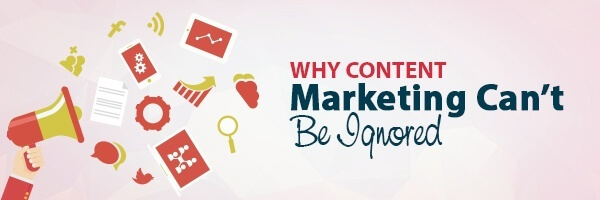 Why Content Marketing can not be Ignored - You NEed a Content Marketiong Strategy to provide direction