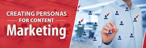 Create different Personas for Marketing